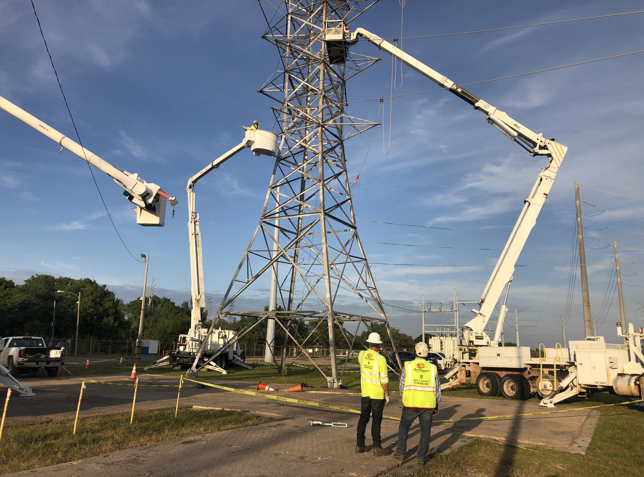 HD Towers - HD1 Removing Wire